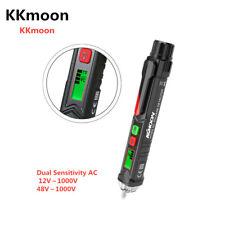 AC Voltage Dual Sensitivity Tester Electric Pen Test 12V/48V-1000V Voltage R4V8
