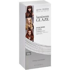 JOHN FRIEDA Luminous Glaze CLEAR SHINE Gloss 6.5fl oz For All Hair Shades NIB
