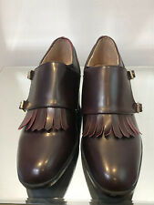 New DOLCIS Size 4 Monk Shoes Loafers Brogues Burgandy Vegan
