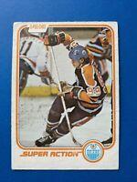 Wayne Gretzky 1980-81 #125 Super Action O-Pee-Chee Hockey Card Edmonton Oilers