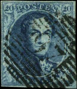 Belgium Scott #7 Used