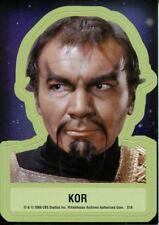 Star Trek TOS 40th Anniversary Series 2 Star Trek Stickers Chase Card S18