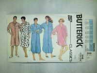 Butterick 3548 Unisex Nightshirt Men Women Sewing Pattern Size L XL