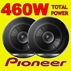 PIONEER 460W TOTAL DUALCONE 5.25 INCH 13cm CAR DOOR/SHELF COAXIAL SPEAKERS PAIR