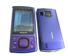 For Nokia 6700s 6700 Slide Fascia Housing Face Plate Battery Cover Keypad Purple