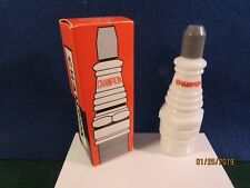 "Vintage Avon "" Champion Spark Plug"" decanter, Tai winds after shave."
