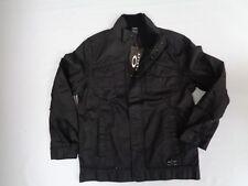 NWT Mens Oakley Operative Spring Jacket Size Medium Black Heavy Duty