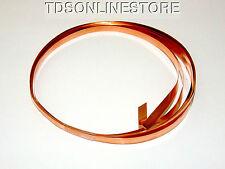 Copper Flat Bezel Wire 3/16 Inch Wide 10 Foot Package