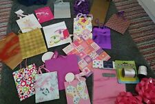 Huge Bulk Collection Gift Bags Curling Ribbon Boxes And Bows birthday present