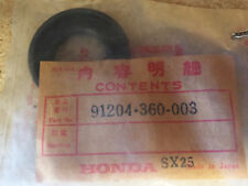 Honda NOS crankshaft main seal CR125M CR125 MR175 MT125 CR MR MT 91204-360-003