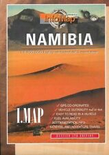 NEW - Namibia GPS r/v infomap: Highly Detailed GPS Road Map (Map) 0620250119