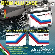 2 Adhesivos Stickers Maletas Lateral BMW Alforjas R 1200GS Motorsport
