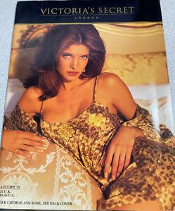 Rare Victoria's Secret Autumn1992 Stephanie Seymour, Frederique Plus many others