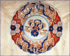 Ancienne Assiette Asiatique Céramique IMARI Japon Faience XIX eme