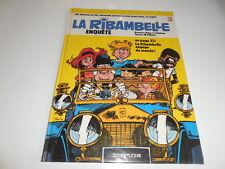 LA RIBAMBELLE ENQUETE/ REEDITION CARTONNEE 1984/ ROBA/ JIDEHEM