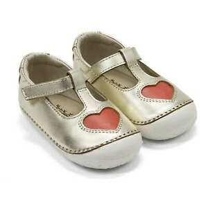 Baby Girl Shoes Old Soles Pave Love Flats First Crib Shoes NEW