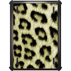 OtterBox Defender for iPad Pro / Air / Mini -  Yellow Black Leopard Fur Skin