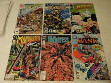 Comic's mixed lot of 5 DC and Jaguar#3