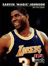 Magic Johnson #32 Skybox USA 1992 NBA Basketball Card