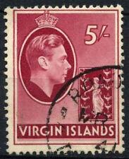 Used Postage British Virgin Islander Stamps