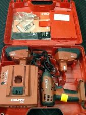 "Hilti SID 121-A Cordless 1/4"" Impact Driver W/2 Batteries & Charger"