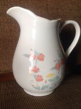 Large Wade Rington'S Picture Or Water Jug Floral Pattern 1992