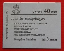 Clearance: Sweden (676a) 1964 Nobel Prize Winners booklet