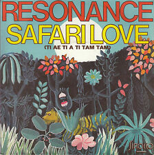 45TRS VINYL 7''/ FRENCH SP RESONANCE / SAFARI LOVE + MOTO ROCK
