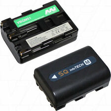 7.2V 1.7Ah Replacement Battery Compatible with Sony NP-FM50