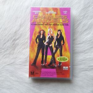 CHARLIE'S ANGELS 2000 VHS Video TAPE Action ADVENTURE Comedy THRILLER Crime