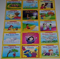 Lot Guided Reading Level A Kids books Easy Leveled Homeschool Kindergarten PreK