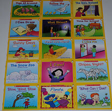 Lot Guided Reading Level A Kids books Easy Leveled Homeschool Kindergarten PreK