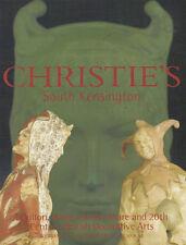 CHRISTIE'S Doulton Poole Carlton Guinness British Deco Arts Catalog 2003