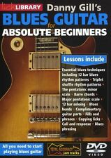 LICK LIBRARY BLUES GUITAR FOR ABSOLUTE BEGINNERS Learn to Play Electric DVD 0428