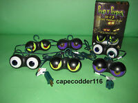 2 Sets Halloween Lights Peep N Peepers Outdor Bushes Party Spooky Evil Eyeballs