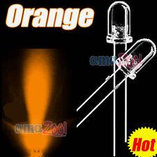 50 PCS x Orange 5mm Superbright Round LED Orange Light 5000MCD 25 Angle