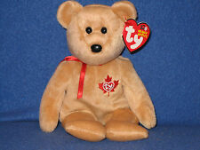 TY TRUE the BEAR BEANIE BABY - CANADA EXCLUSIVE - MINT with NEAR PERFECT TAG