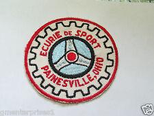 Sports Car Club  Patch Ecurie De Sport Painesville Ohio Vintage Patch  ( 032B) *
