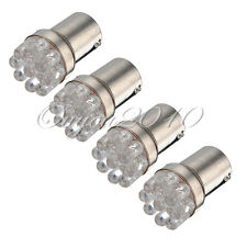 4X Super White 1156 BA15S 9-SMD LED Backup Reverse Turn Signal Light Bulbs 1003