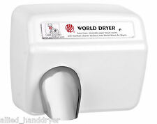 WORLD XA54-974 (208V/240V) Hand Dryer with Cast Iron Cover