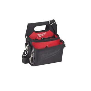 15-Pocket Electricians Work Pouch/Holster Hand Tool Bag with Quick Adjust Belt