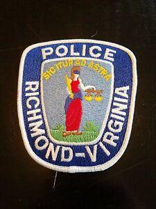 Richmond, Virginia police patch