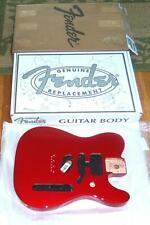 Fender® MIM SSH Deluxe Tele Candy Apple Red Alder Body~Contoured Heel~Brand New