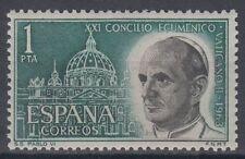 ESPAÑA (1963) MNH - NUEVO SIN FIJASELLOS SPAIN - EDIFIL 1540 PAPA PABLO VI