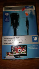 BELKIN LAPTOP TO HDTV HIGH SPEED HDMI CABLE 10F NEW