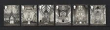 GB Stamps 2008 'Cathedrals' sg2841-2846 - Fine used