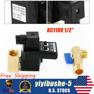1/2'' Compressor Auto Electronic Timed Air Tank Water Moisture Drain Valve Timer