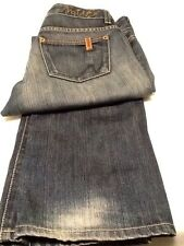 NFY NOTIFY WOMEN'S JEANS BOOT DENIM SIZE 27 x 30 LOW RISE MADE IN ITALY!!!