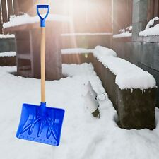 Snow Shovel With Wooden Handle,Durable, Made in Turkey