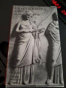 La letteratura greca. vol.2: Da Erodoto all'epilogo meridiani 1990